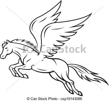Pegasus clipart #10, Download drawings