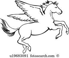 Pegasus clipart #5, Download drawings