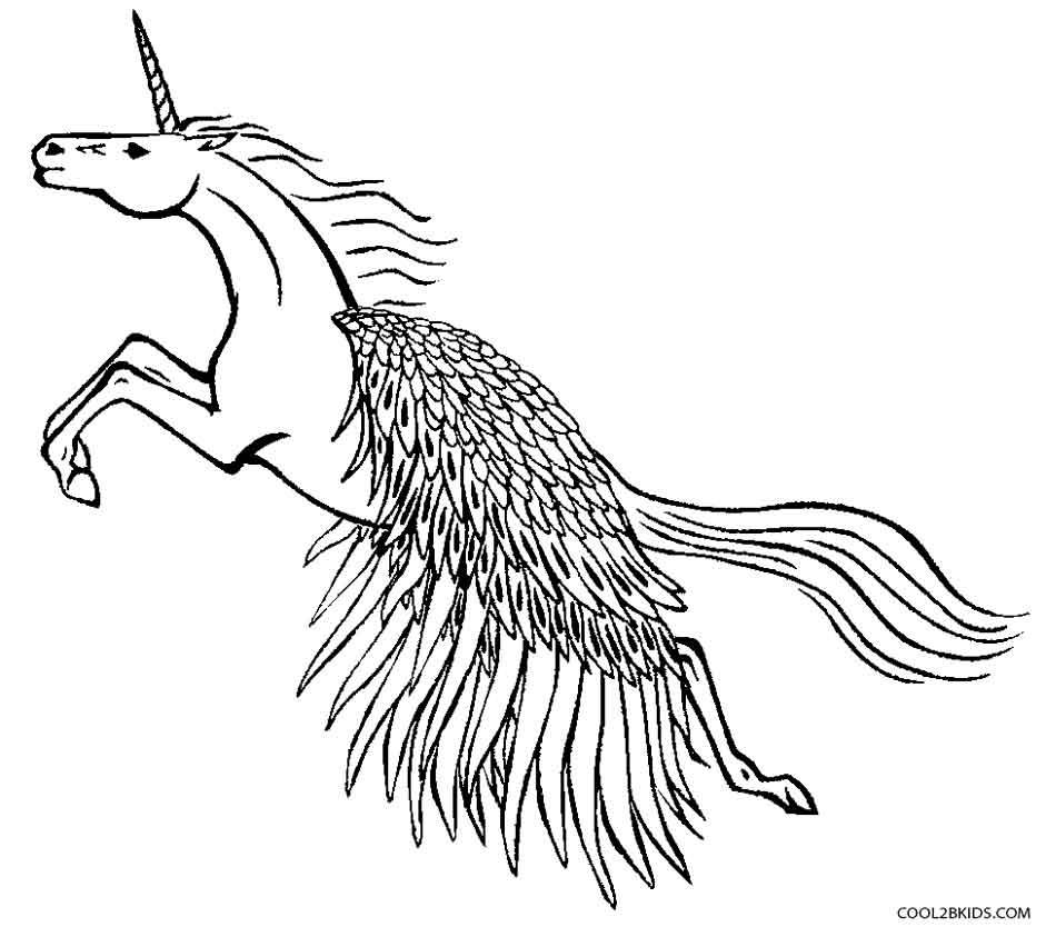 Pegasus coloring #5, Download drawings