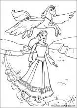 Pegasus coloring #11, Download drawings