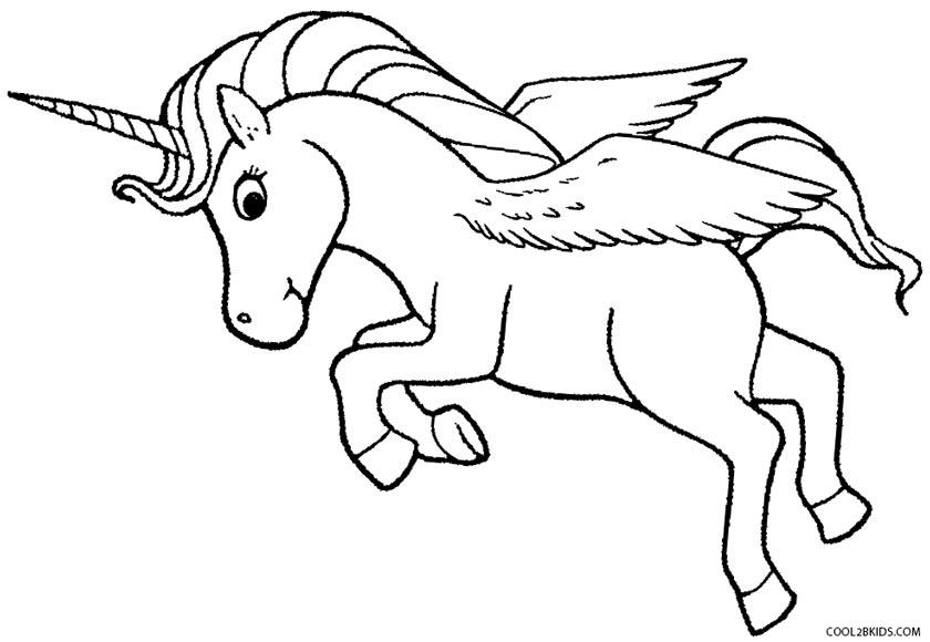 Pegasus coloring #18, Download drawings