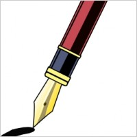 Pen clipart #3, Download drawings