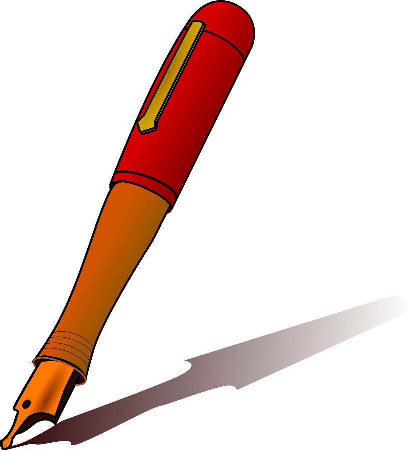 Pen clipart #9, Download drawings