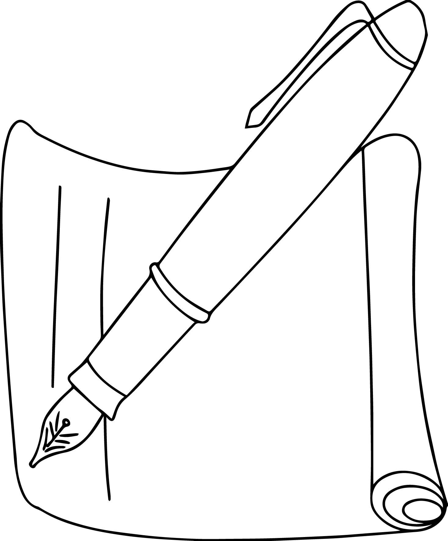 Pen coloring #6, Download drawings