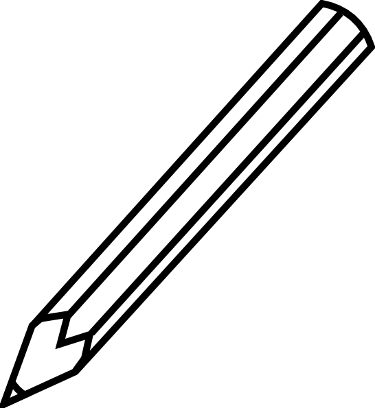 Pencil clipart #1, Download drawings