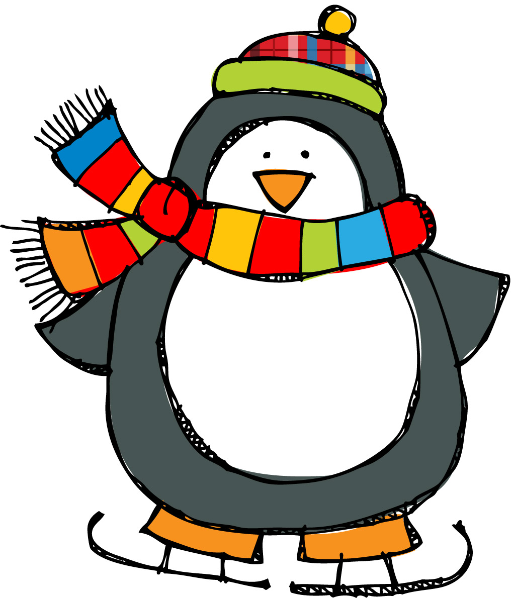 Penguin clipart #2, Download drawings