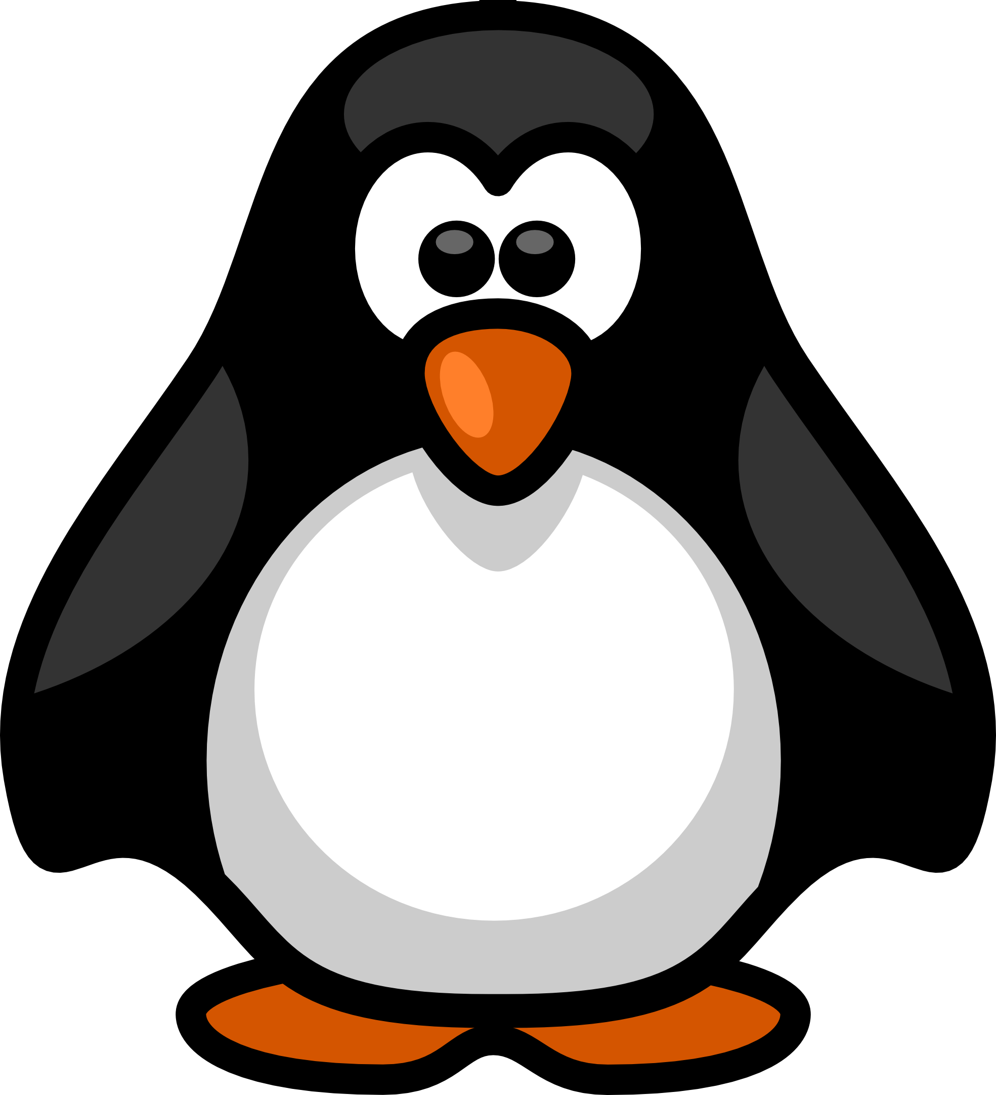 Penguin clipart #7, Download drawings