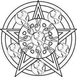 Pentagram coloring #7, Download drawings