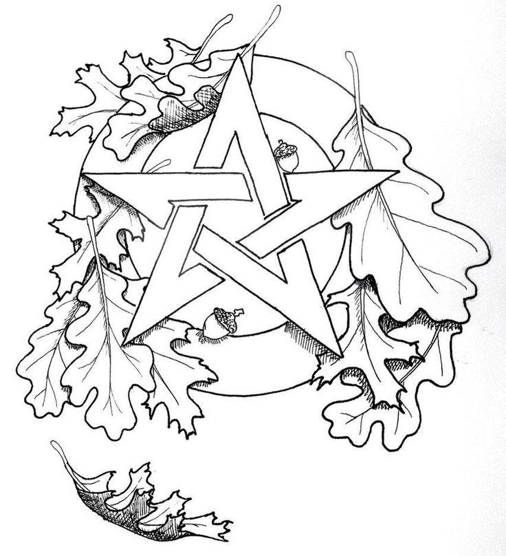 Pentagram coloring #9, Download drawings