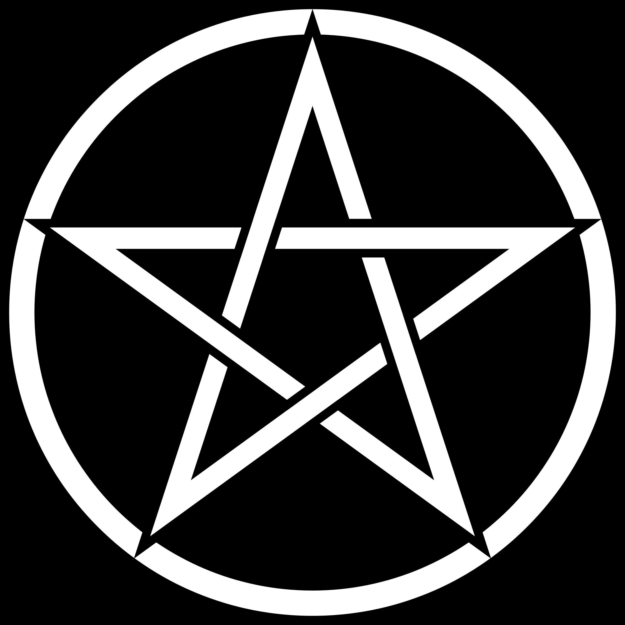 Pentagram coloring #6, Download drawings