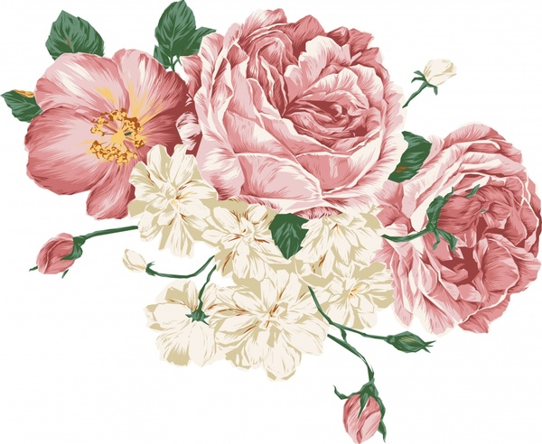 Peony clipart #5, Download drawings