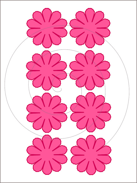 Peony svg #5, Download drawings