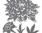 Peony svg #8, Download drawings