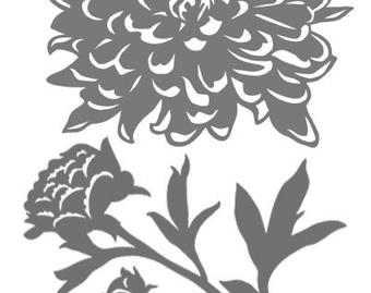 Peony svg #423, Download drawings