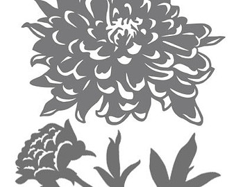 Peony svg #20, Download drawings