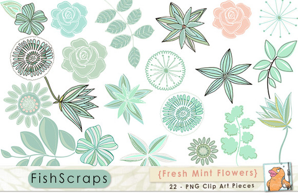 Peppermint Rose clipart #4, Download drawings