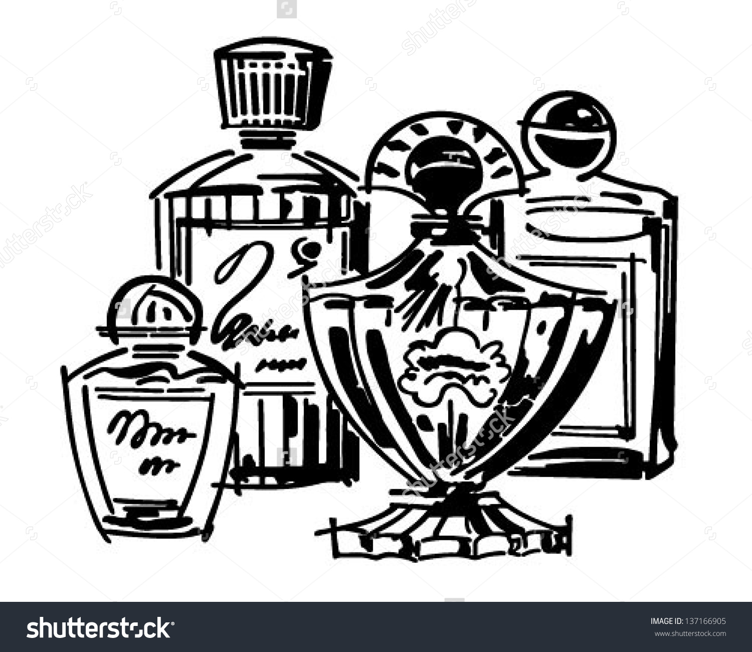 Perfume clipart #2, Download drawings