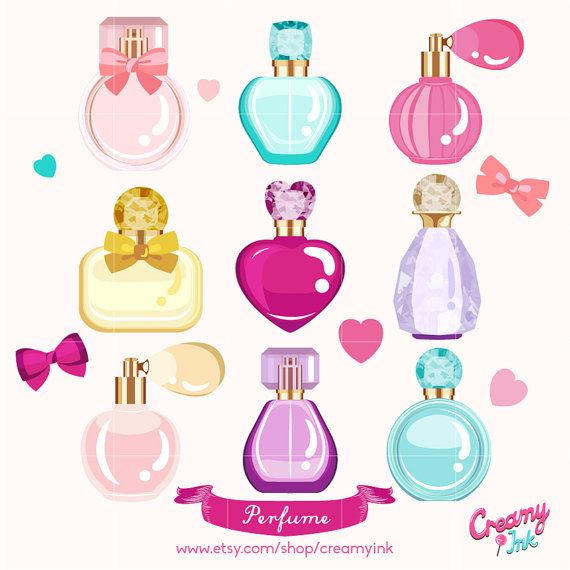Perfume clipart #5, Download drawings