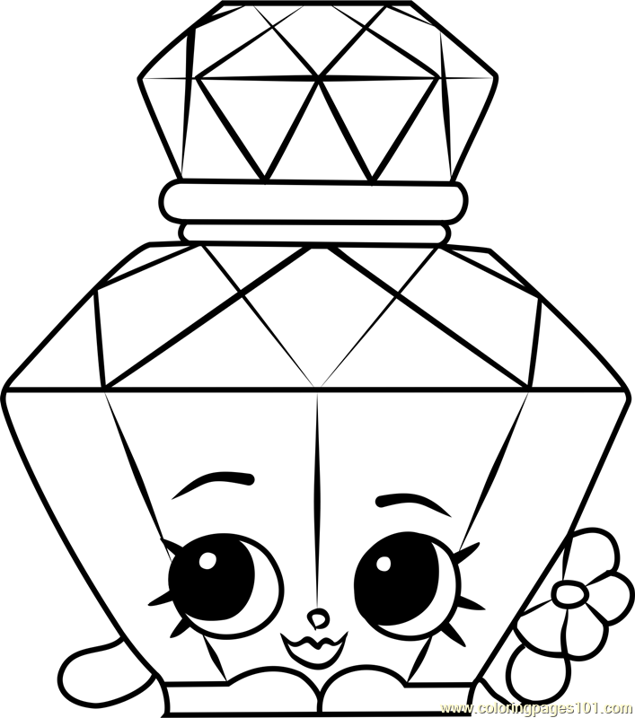 coloring pages perfume - photo#21