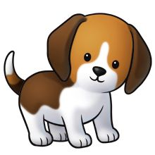 Puppy clipart #7, Download drawings
