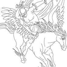 Perseus coloring #10, Download drawings