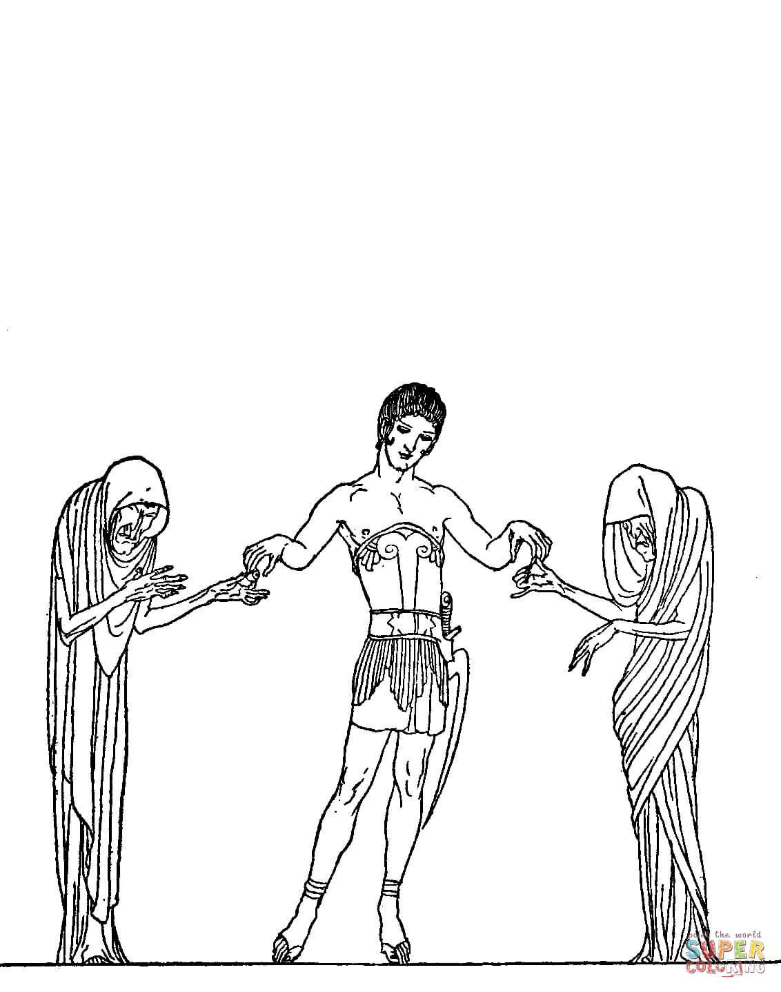 Perseus coloring #17, Download drawings