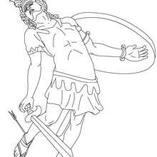 Perseus coloring #14, Download drawings