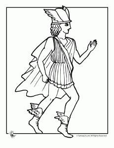 Perseus coloring #11, Download drawings