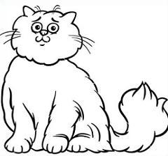 Persian Cat clipart #8, Download drawings