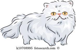 Persian Cat clipart #1, Download drawings