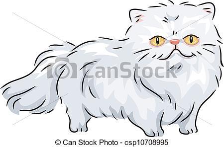 Persian Cat clipart #4, Download drawings