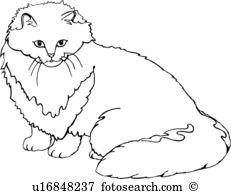 Persian Cat clipart #5, Download drawings