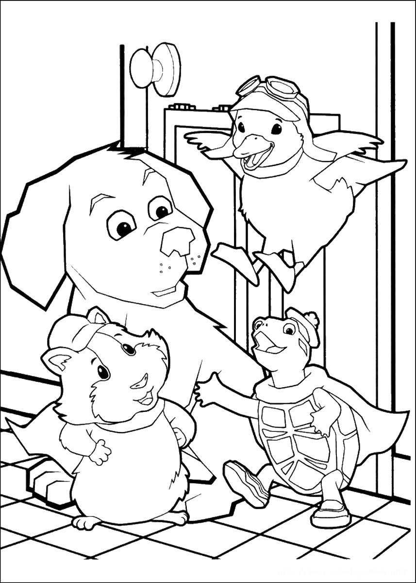 Pet coloring #10, Download drawings