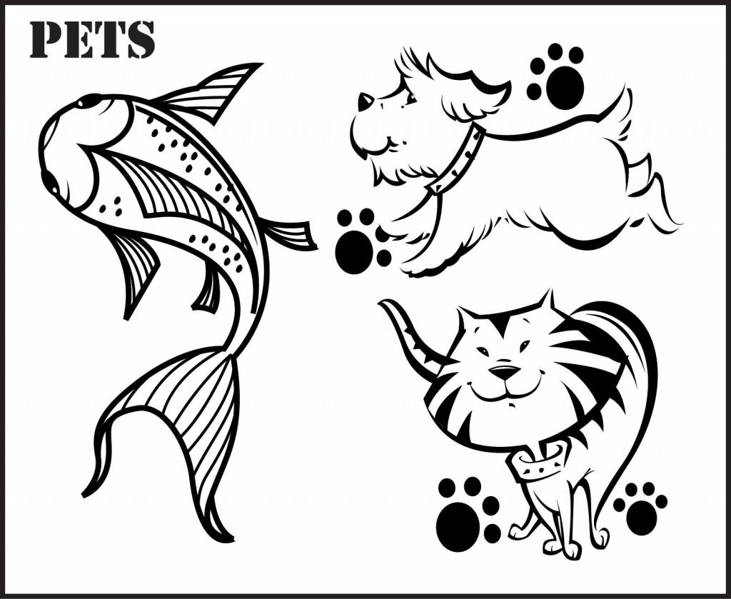 Pet coloring #19, Download drawings