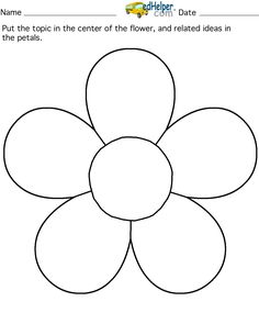 Petals coloring #3, Download drawings