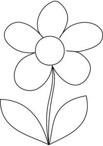 Petals coloring #8, Download drawings