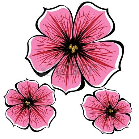 Petunia clipart #2, Download drawings