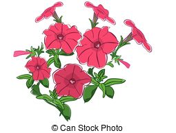 Petunia clipart #4, Download drawings