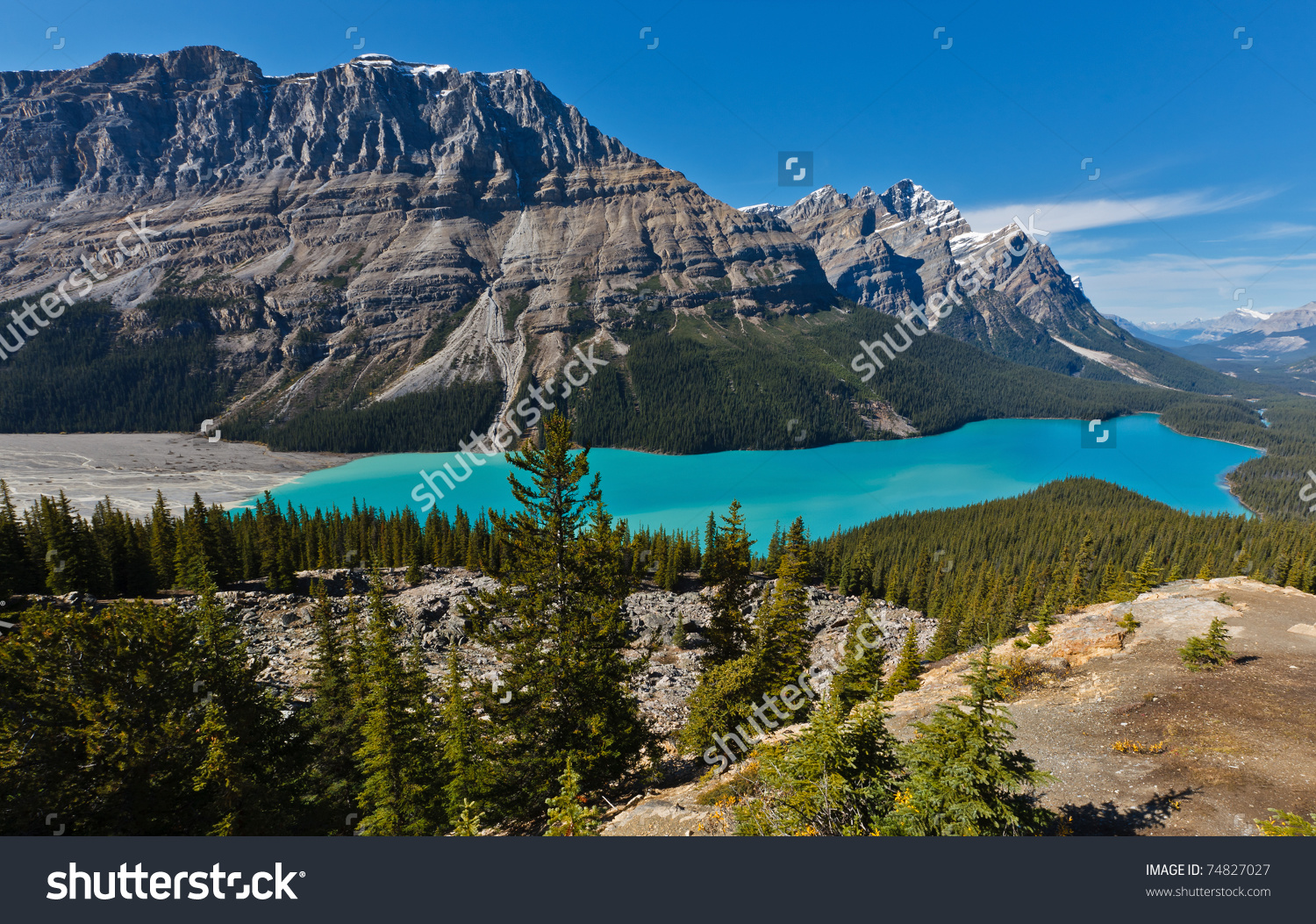 Peyto Lake clipart #1, Download drawings