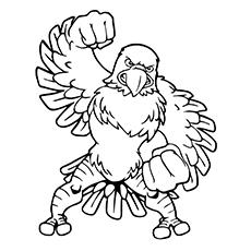 Steller's Sea Eagle coloring #13, Download drawings