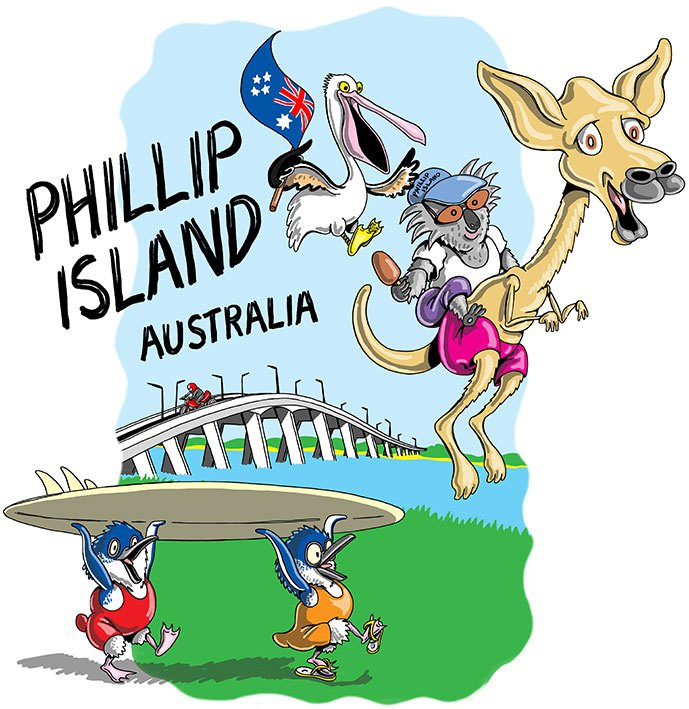 Phillipe Island clipart #2, Download drawings