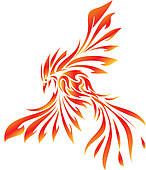 Phoenix clipart #5, Download drawings