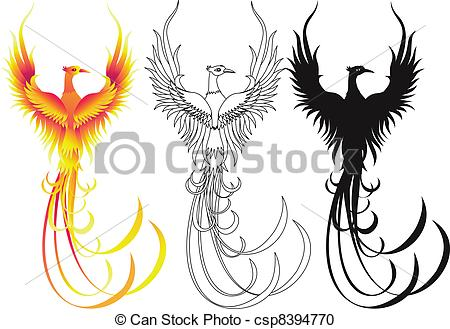 Phoenix clipart #6, Download drawings