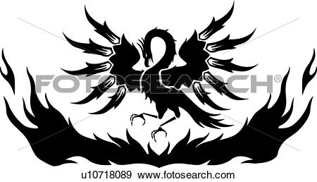 Phoenix clipart #3, Download drawings