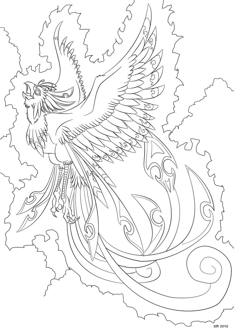 Fenix coloring #9, Download drawings