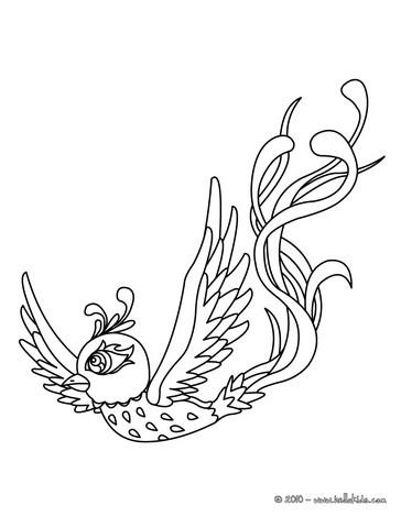 Fenix coloring #1, Download drawings
