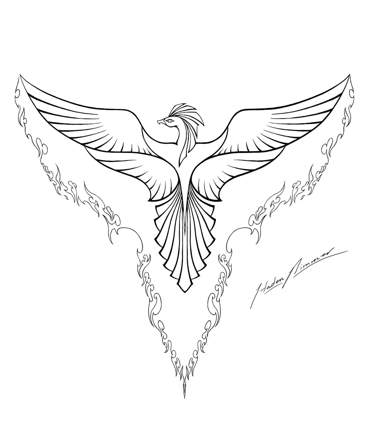Fenix coloring #2, Download drawings