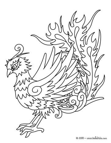 Fenix coloring #14, Download drawings