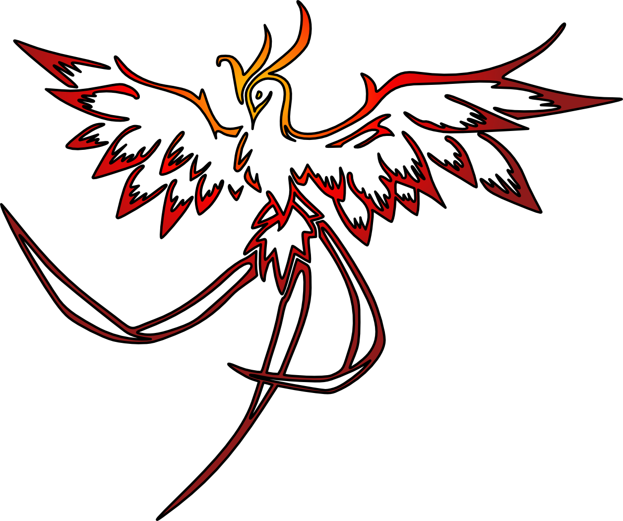 Phoenix svg #5, Download drawings