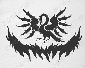 Phoenix svg #8, Download drawings